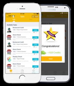 Aplicativo permite ganhar dinheiro pelo celular